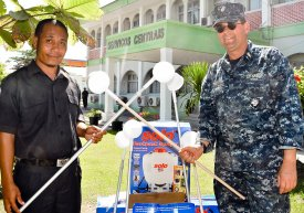 CDR Mike Smith in Timor